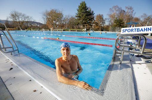 Die Winterschwimmer im Wunnebad