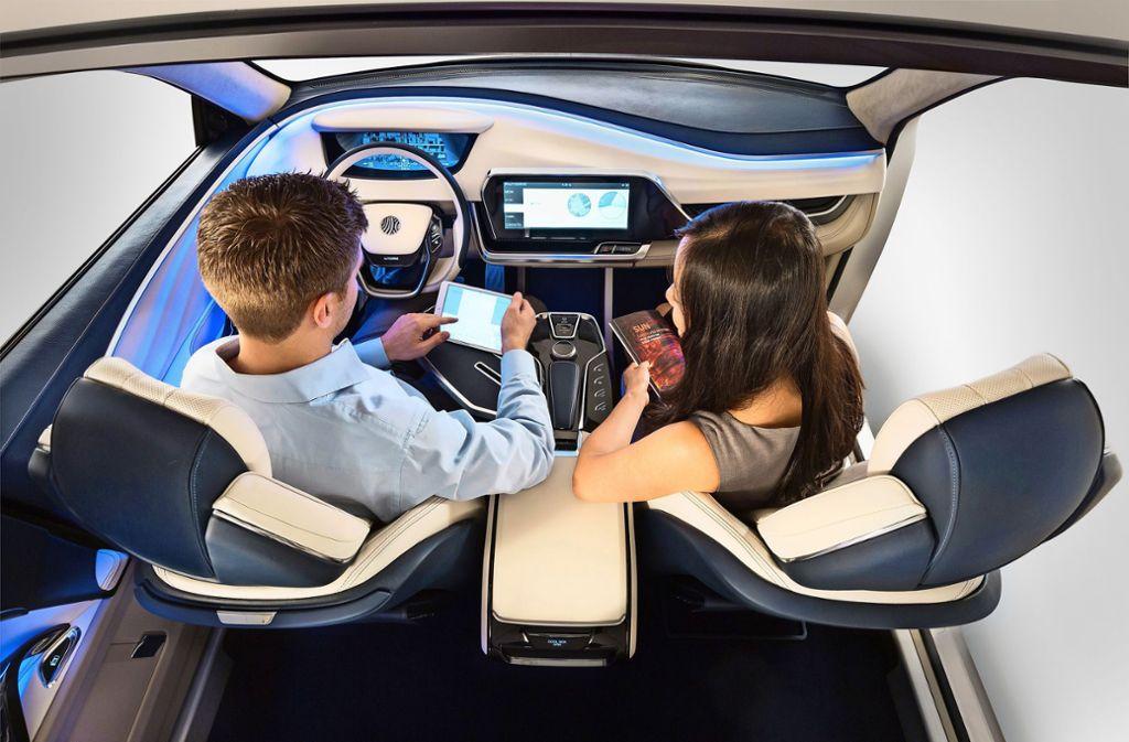 In nicht allzu ferner Zukunft sollen Autos autonom fahren. Derzeit wird in Brüssel gerungen, wie   Daten dabei übertragen  werden. Foto: Yanfeng/Morgan Anderson Photo