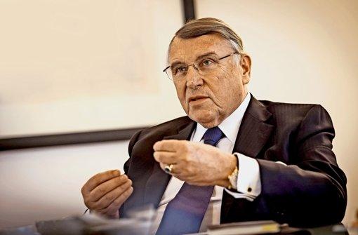 """""""Eine durchgreifende wirtschaftliche Reformpolitik ist nicht erkennbar"""", sagt  der  Unternehmensberater Klaus Mangold. Foto: Lichtgut/Max Kovalenko"""