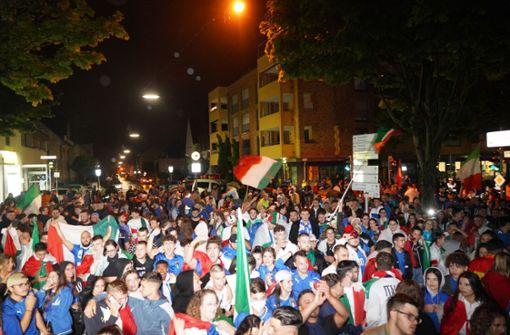 Italien-Fan dankt Anwohnern und der Polizei
