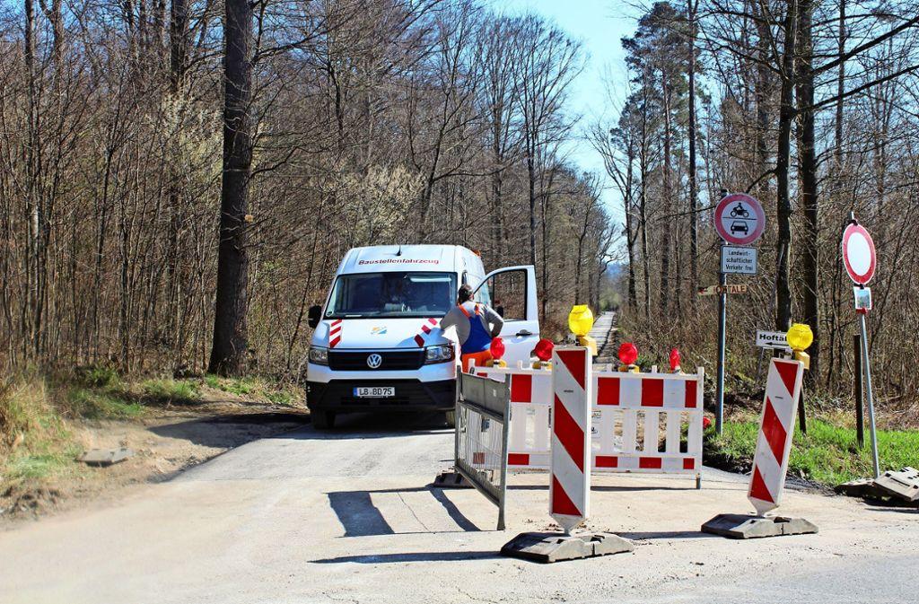 Als die Arbeiten geplant wurden, konnte keiner wissen, dass das Ramsbachtal zur noch beliebteren Spazierroute wird. Foto: Baur