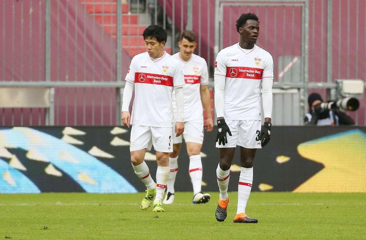 Die VfB-Mannschaft erhielt in München eine Lehrstunde. Foto: Pressefoto Baumann