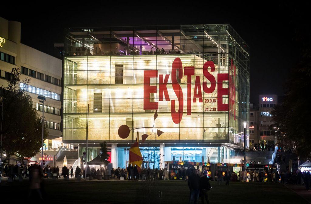 Mitarbeiter des Kunstmuseums in Stuttgart haben das Licht am Samstag für eine Stunde ausgeschaltet. (Archivbild) Foto: Lichtgut/Achim Zweygarth