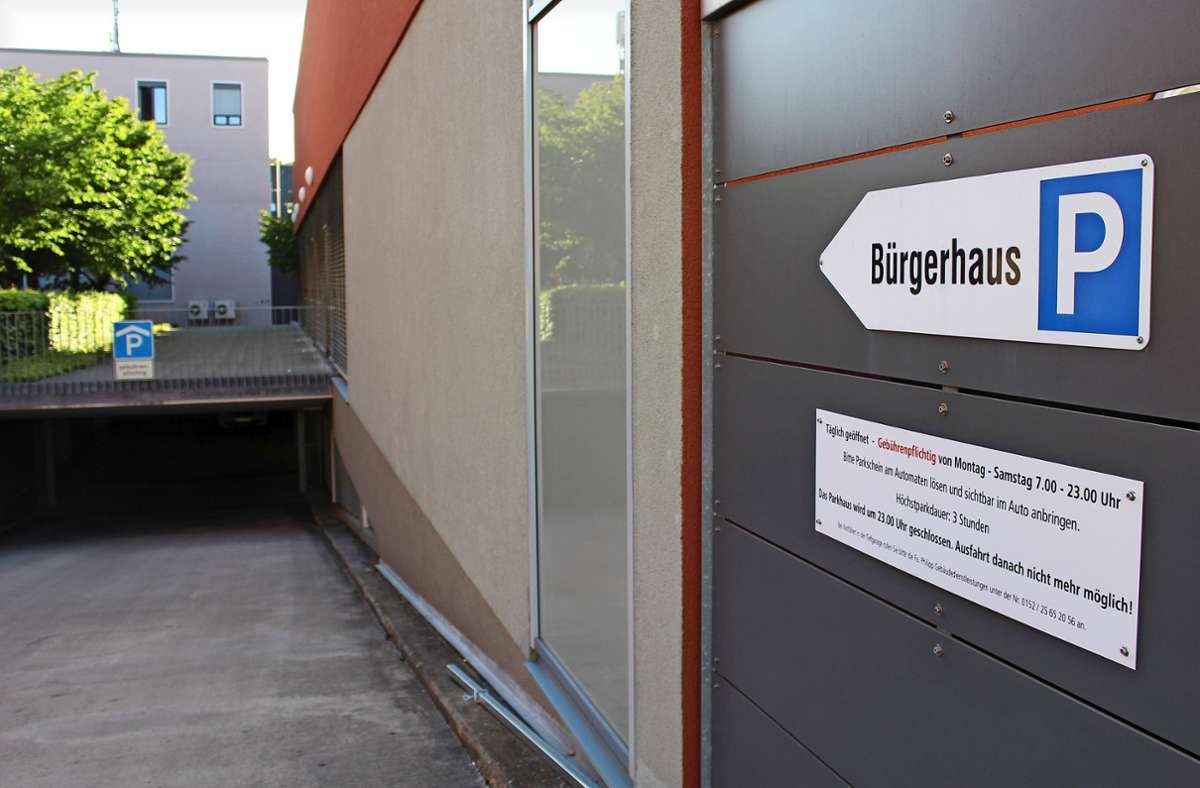Die Tiefgarage in Stuttgart-Möhringen: Werden hier Partys gefeiert? Foto: Caroline Holowiecki
