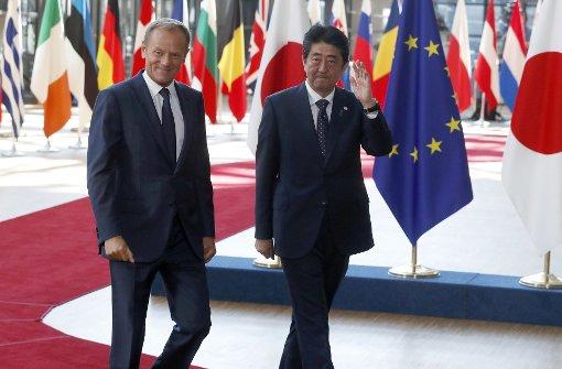 EU und Japan grundsätzlich einig