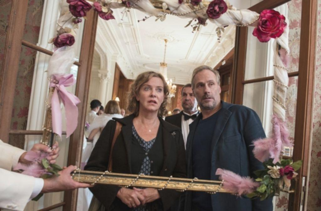 Anna Janneke (Margarita Broich) und Paul Brix (Wolfram Koch) ermitteln. Foto: ARD