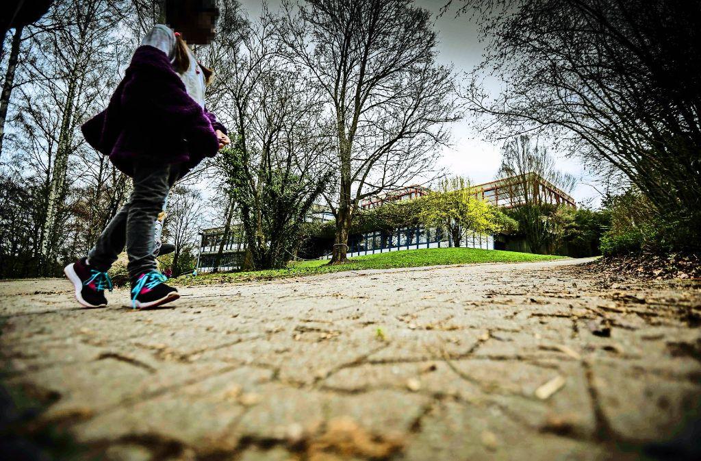 Die Zukunft des Standorts Steinenbergschule in Hedelfingen ist ungewiss – auch Schulbürgermeisterin Isabel Fezer wagt keine Prognose. Foto: Lichtgut/Leif Piechowski