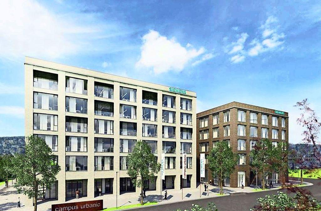 Der sogenannte Urbanic-Campus nahe des Porscheplatzes wird 2021 neuer Standort von Siemens. Foto: