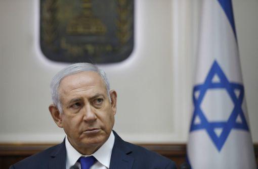 Benjamin Netanjahu soll wegen Korruption angeklagt werden