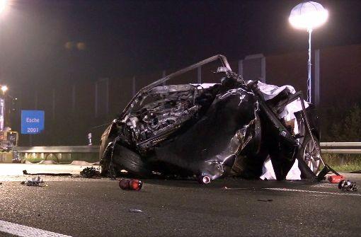 Vier Tote bei Unfallserie auf A4