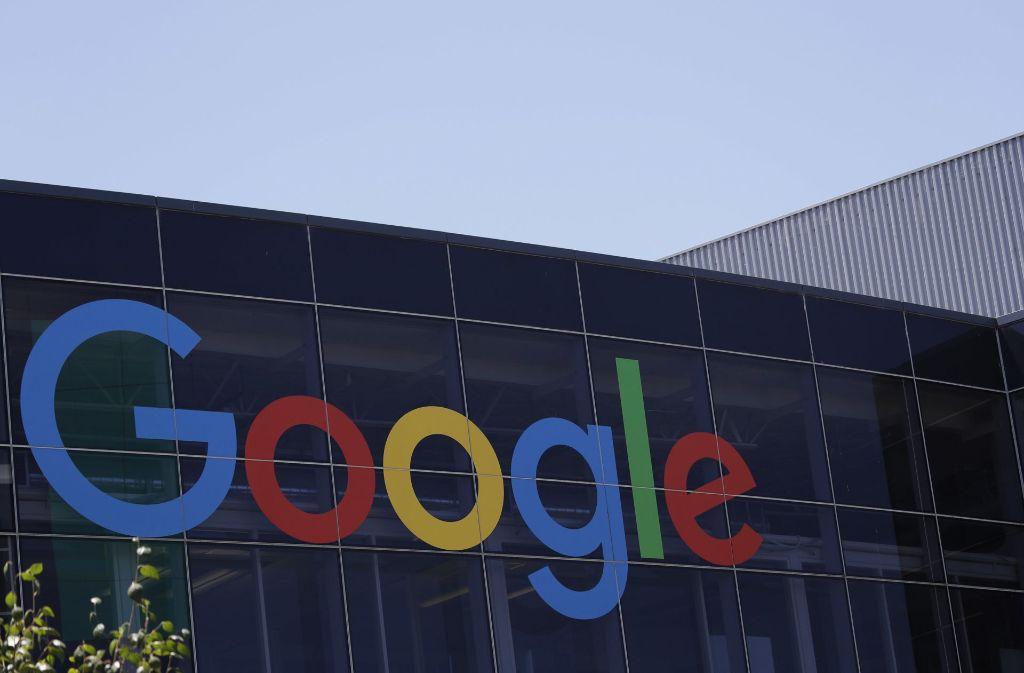 Die EU-Kommission hatte Google mit einer Wettbewerbsstrafe von 2,4 Milliarden Euro belegt. Foto: AP