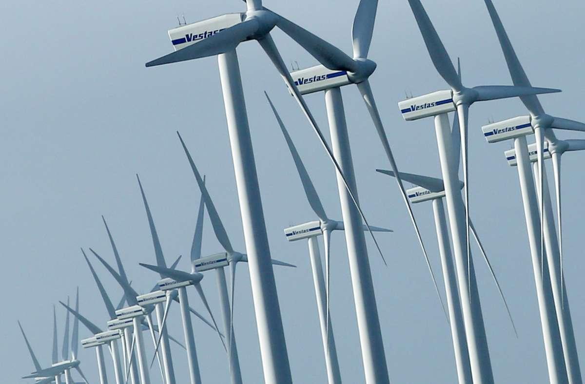 Der Ausbau von Windparks ist als ein Ziel im Gesetz verankert. Foto: dpa/Christian Charisius