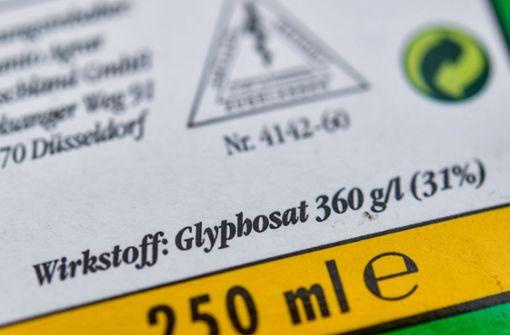 Stadt Stuttgart bremst Einsatz von Glyphosat
