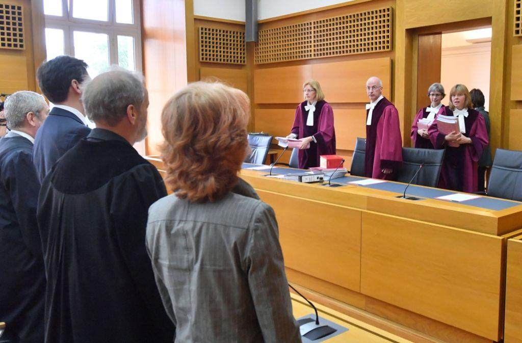 Die Richter des Bundesverwaltungsgerichts in Leipzig haben über das nicht zugelassene Bürgerbegehren zu Stuttgart 21 entschieden. Foto: dpa-Zentralbild
