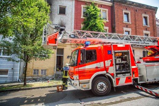 In Stundenhotel bricht Feuer aus