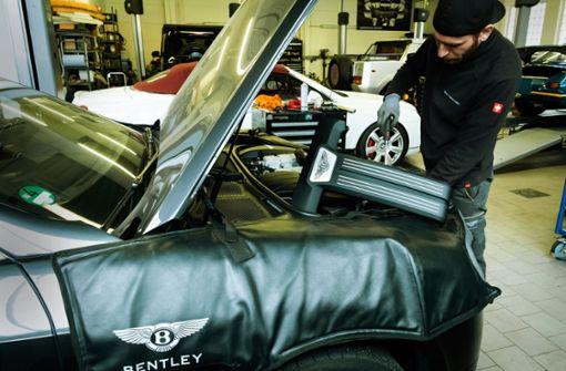 Ersatzteile für britische Autos sind schwer zu bekommen