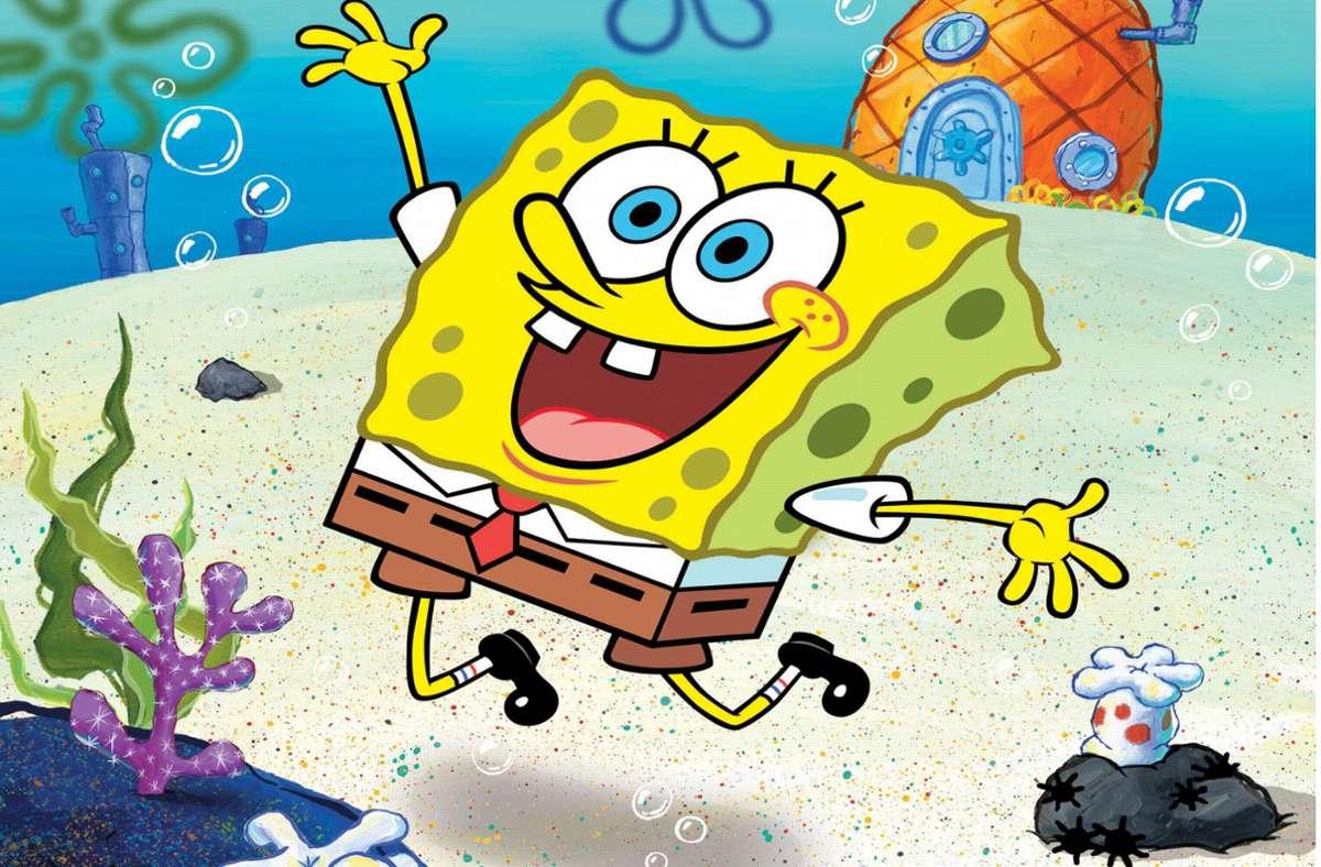 Spongebob Schwammkopf  soll angeblich homosexuell sein. Foto: dpa