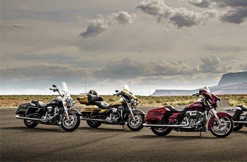 Teure  Harley-Davidson gestohlen
