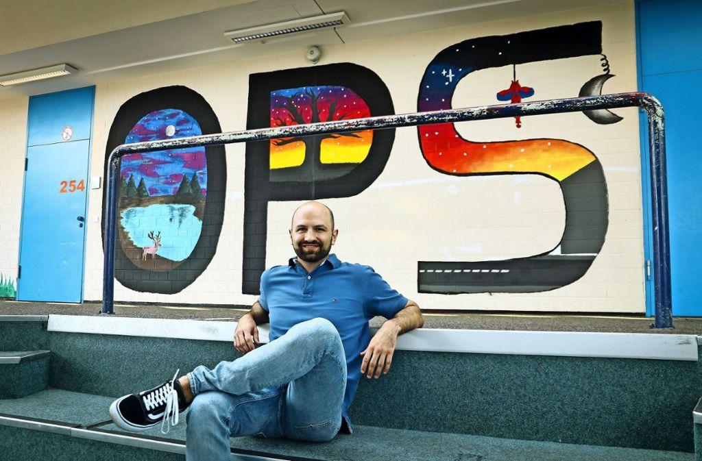 Michael Tame leitet das Projekt an der Oscar-Paret-Schule. Foto: factum