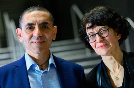 Gründer und Mitarbeiter von Biontech geehrt