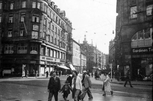 Die Tübinger Straße ohne Gentrifizierung und Paulinenbrücke