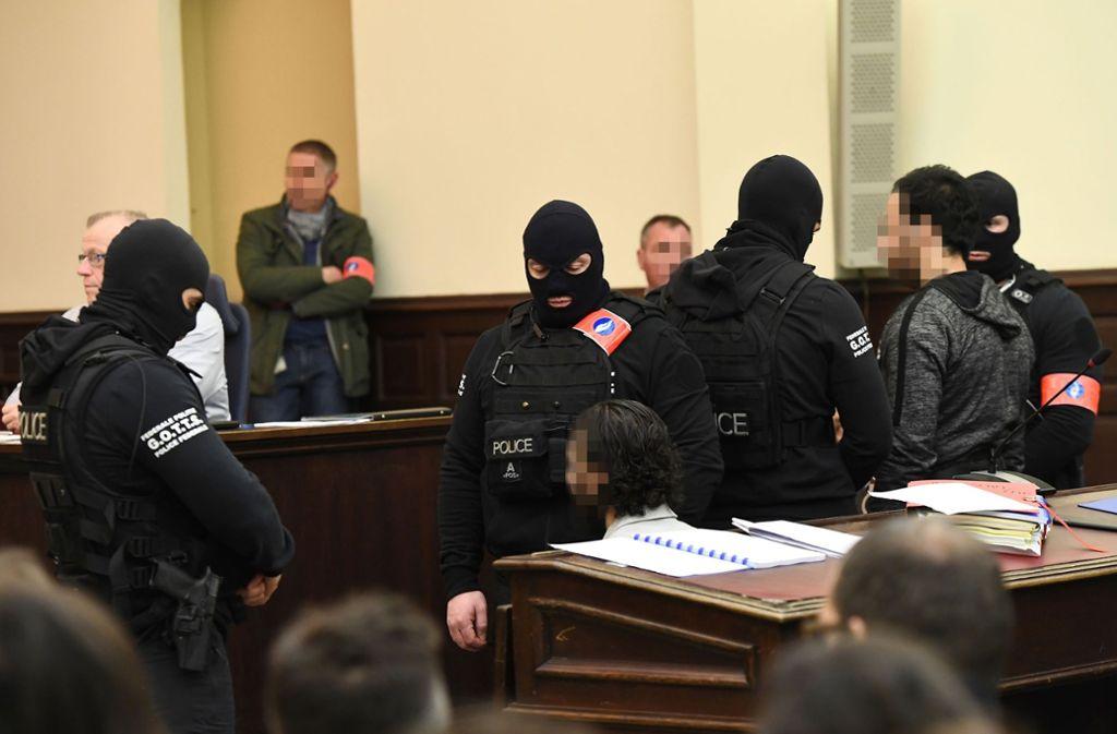 Der Prozess hatte unter scharfen Sicherheitsvorkehrungen stattgefeunden. Foto: AFP