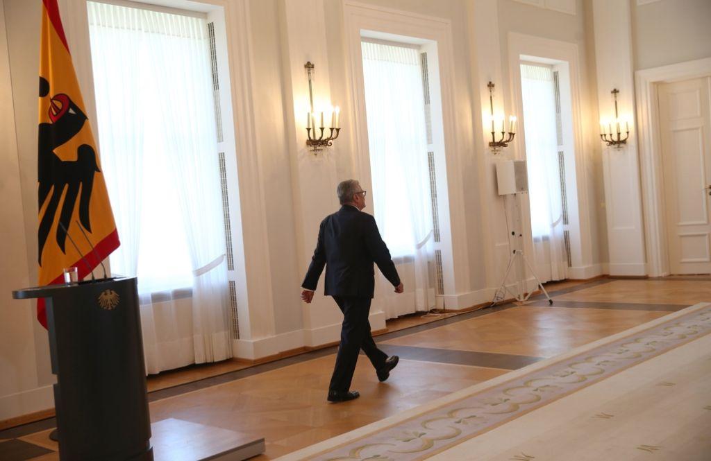 Noch geht er nicht endgültig: Joachim Gauck Foto: dpa