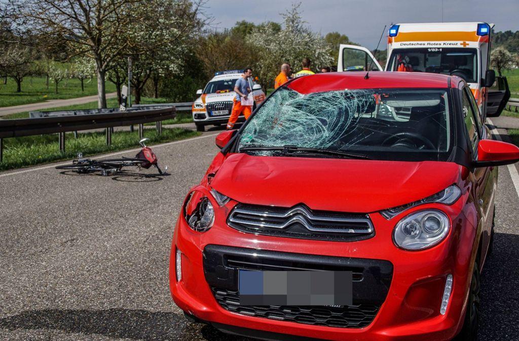 Für den Verletzten kommt jede Hilfe zu spät. Foto: SDMG