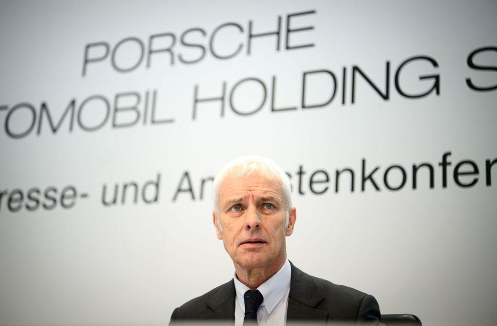 Matthias Müller hat nun auch seinen Posten im Vorstand der Volkswagen-Dachgesellschaft Porsche SE niedergelegt. Foto: dpa