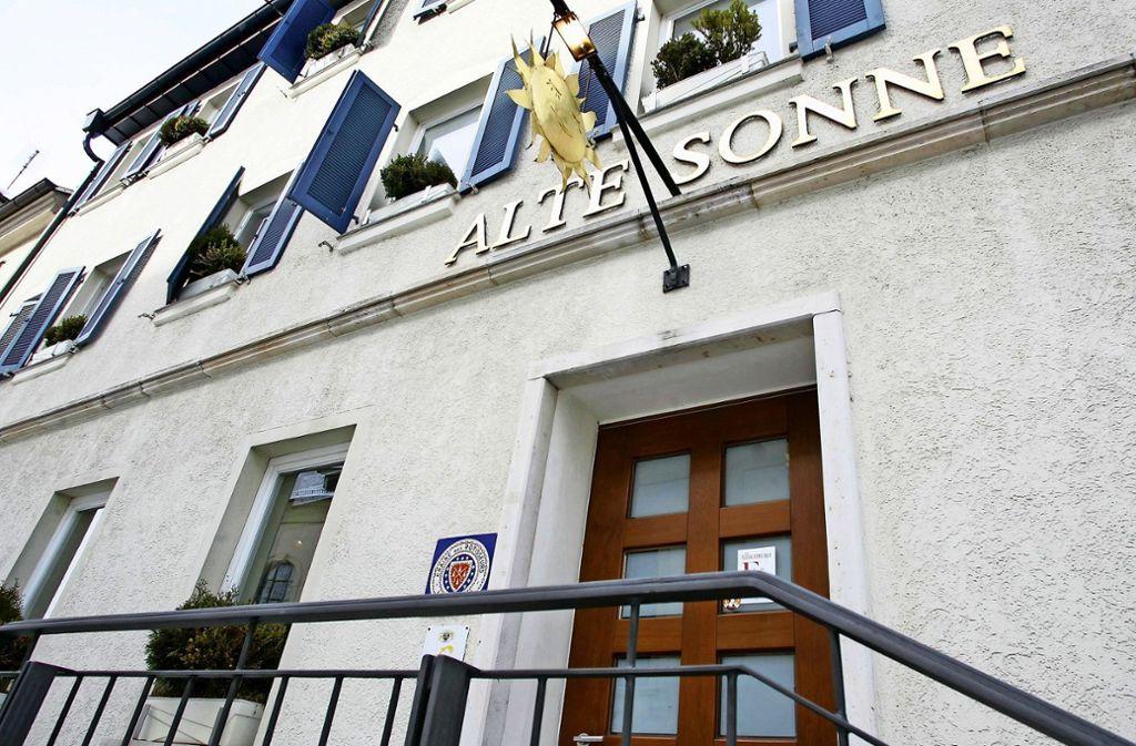 Die Alte Sonne zählte  jahrelang zum besten, was Ludwigsburg an Restaurants zu bieten hat. Sie  schließt zum 31. Januar. Foto: /Simon Granville