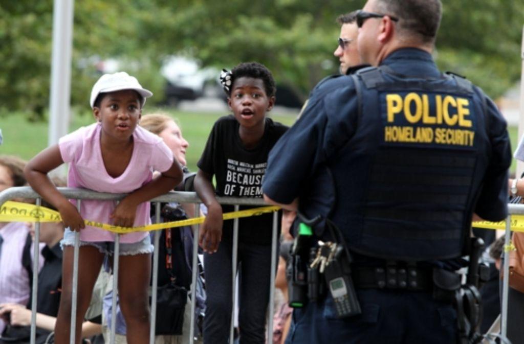 Die US-Kleinstadt Ferguson kommt nicht zur Ruhe. Foto: St. Louis Post-Dispatch