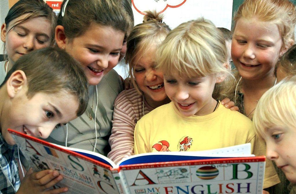 In Zukunft beginnt der Fremdsprachenunterricht in der dritten Klasse. Foto: dpa