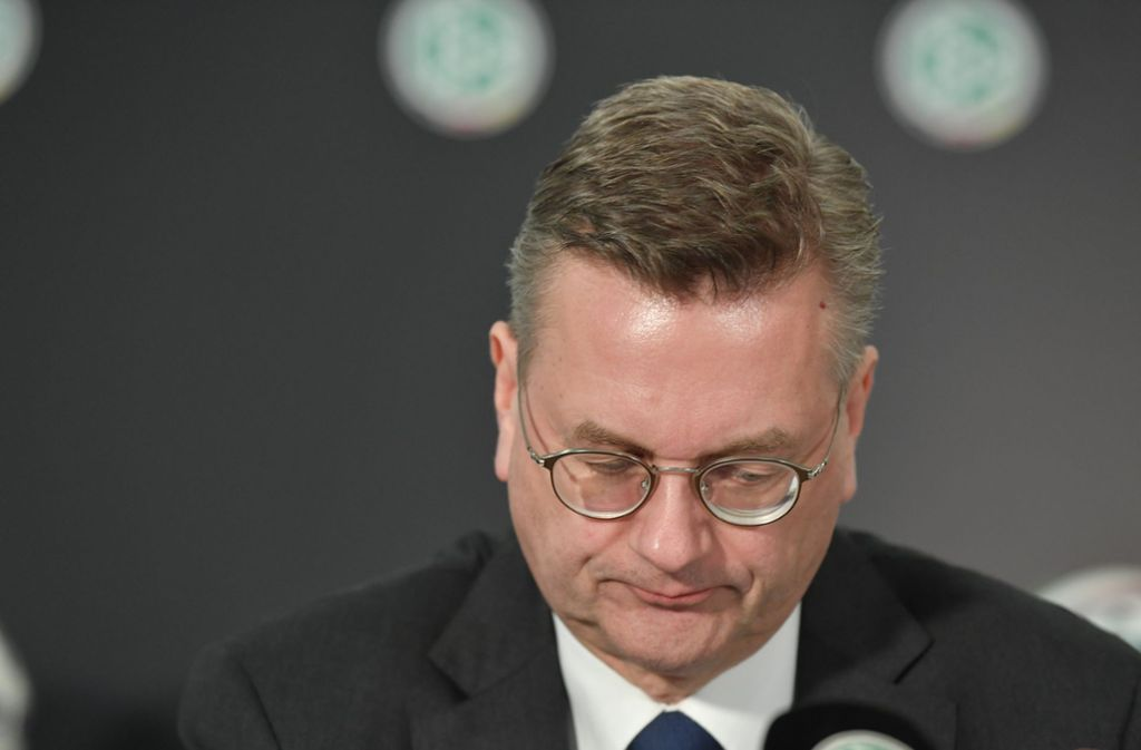 Reinhard Grindel tritt als DFB-Präsident zurück. Foto: dpa