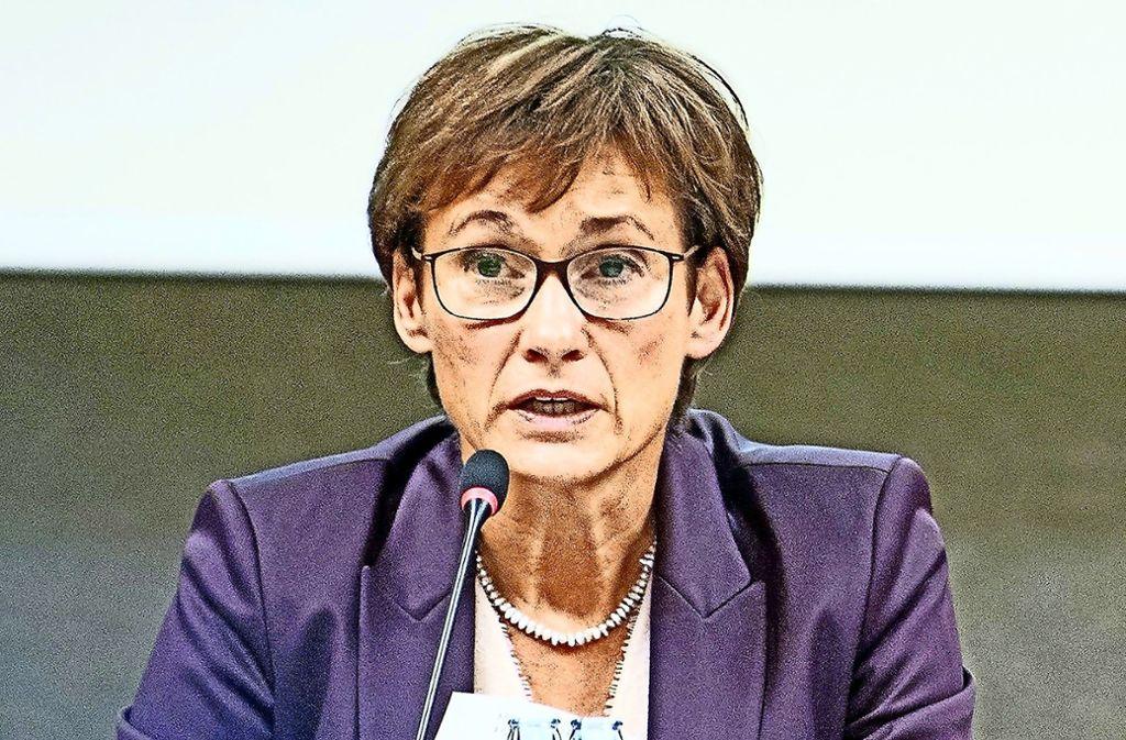 Die Leonberger CDU-Landtagsabgeordnete Sabine Kurtz hat den Verkehrsminister angeschrieben. Foto: dpa/Sebastian Gollnow