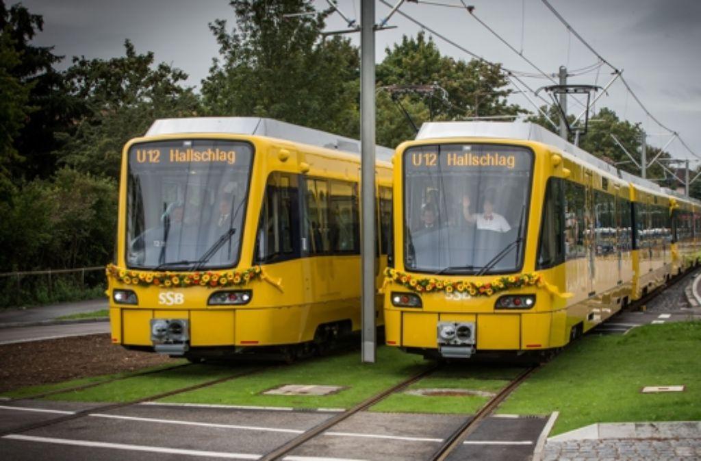 Mit der U12 gewinnt die Stadtbahn neue Kunden. Foto: Achim Zweygarth