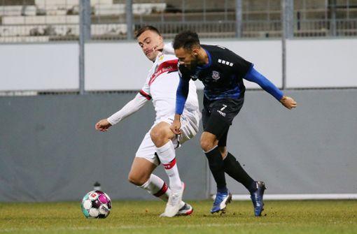 Philipp Förster rettet dem VfB II einen Punkt