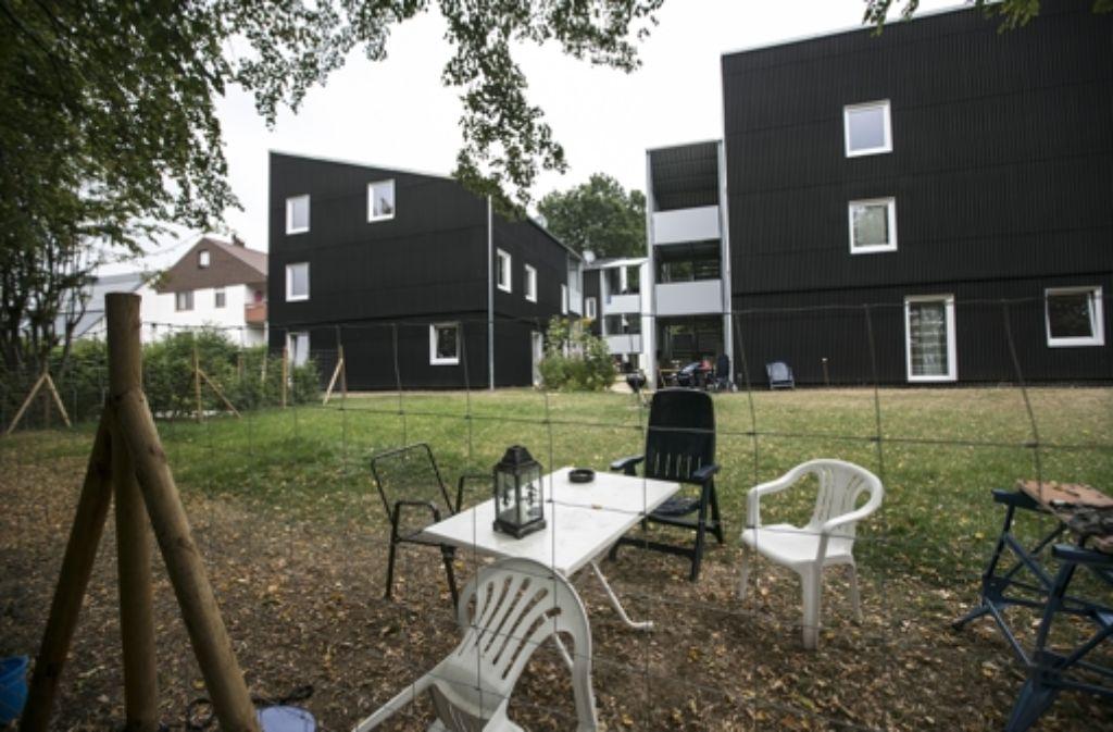 In Ostfildern leben auch Flüchtlinge in der Unterkunft für Wohnungslose. Foto: Horst Rudel