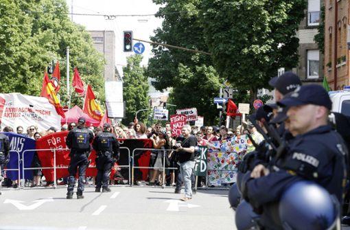 Polizeieinsatz löst kontroverse Debatte   im Gremium aus