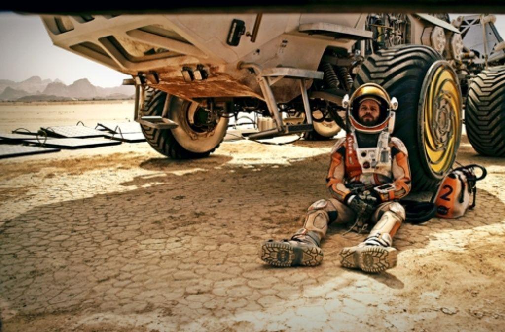 Mark Watney (Matt Damon) kann auf Hilfe von der Erde nicht hoffen. Foto: 20th Century Fox