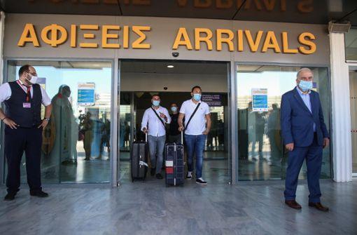 Griechenland untersagt Serben die Einreise