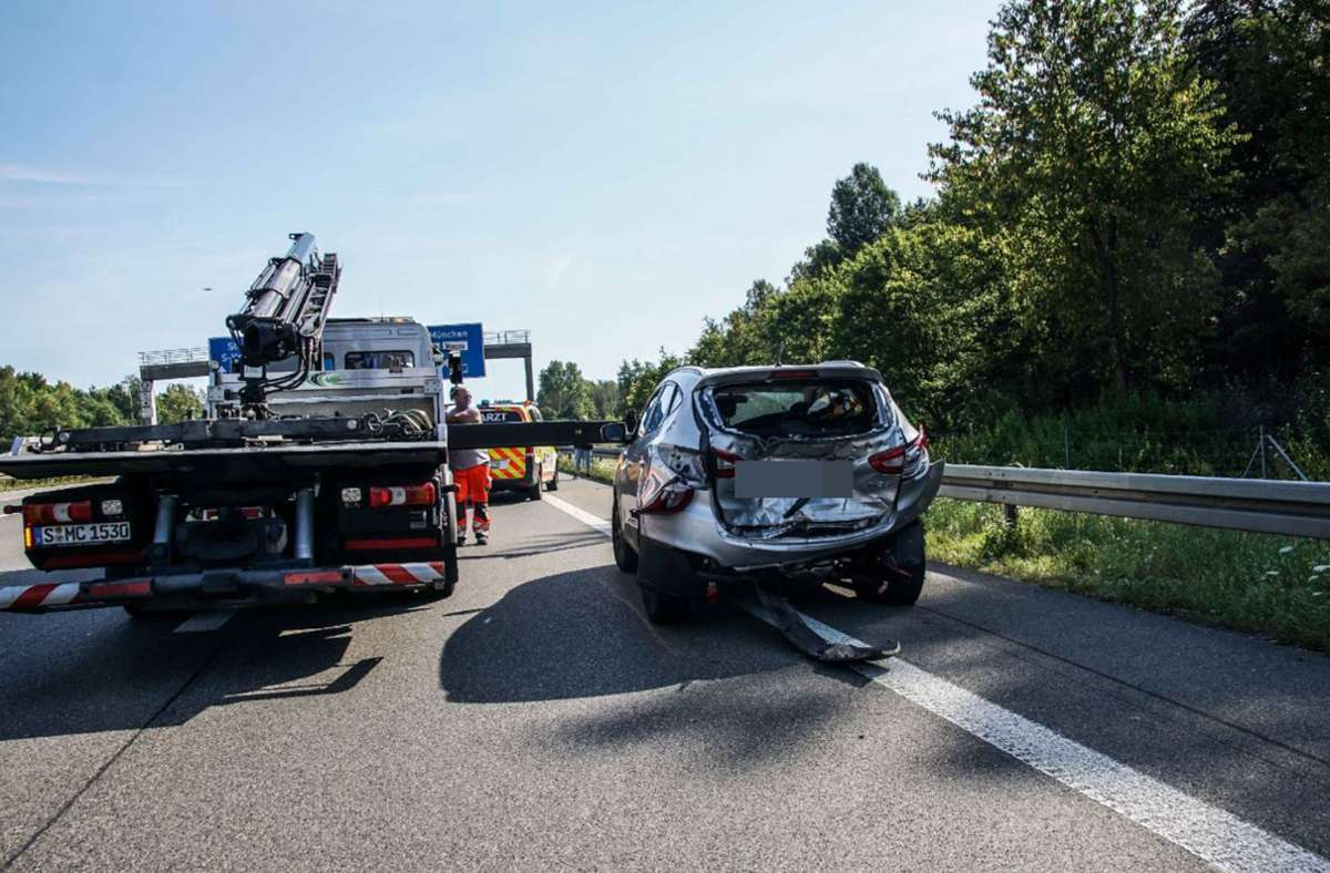 Der Sachschaden beläuft sich auf 50 000 Euro. Foto: SDMG / Dettenmeyer