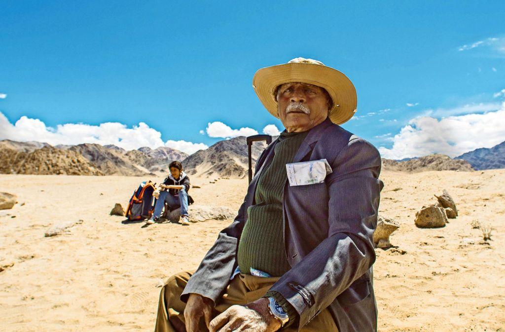 "Namdev Bhau (Namdev Gurav)  findet einfach keine Stille  im Eröffnungsfilm ""Namdev Bhau – In Search of Silence Fotos: Festival Foto:"