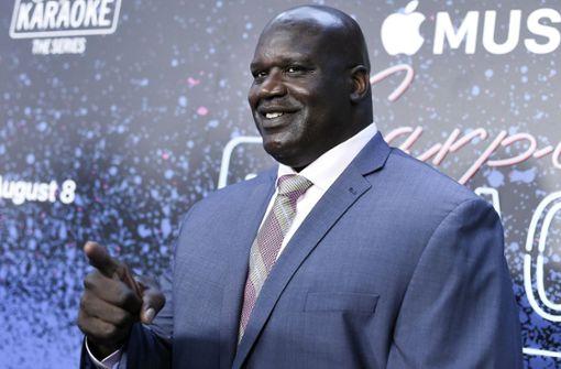 Google nennt Basketballspieler O'Neal als Mitglied von *NSYNC