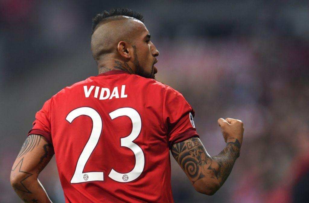 Münchner Kämpfer: Arturo Vidal Foto: dpa