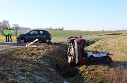 Fahranfänger verursacht Unfall mit drei Schwerverletzten