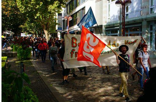 Demonstranten fordern Cannabisfreigabe