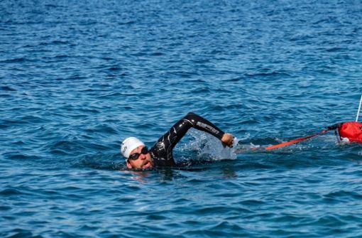 Die Adria macht dem Ausnahmeathleten  zu schaffen
