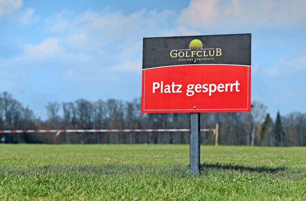 Die Golfclubs in Baden-Württemberg dürfen vorerst noch nicht wieder öffnen. Foto: imago/Ulmer