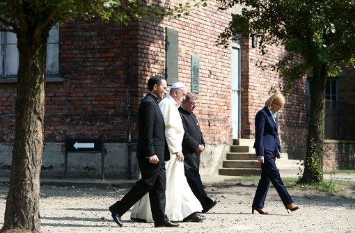Franziskus besucht früheres KZ Auschwitz