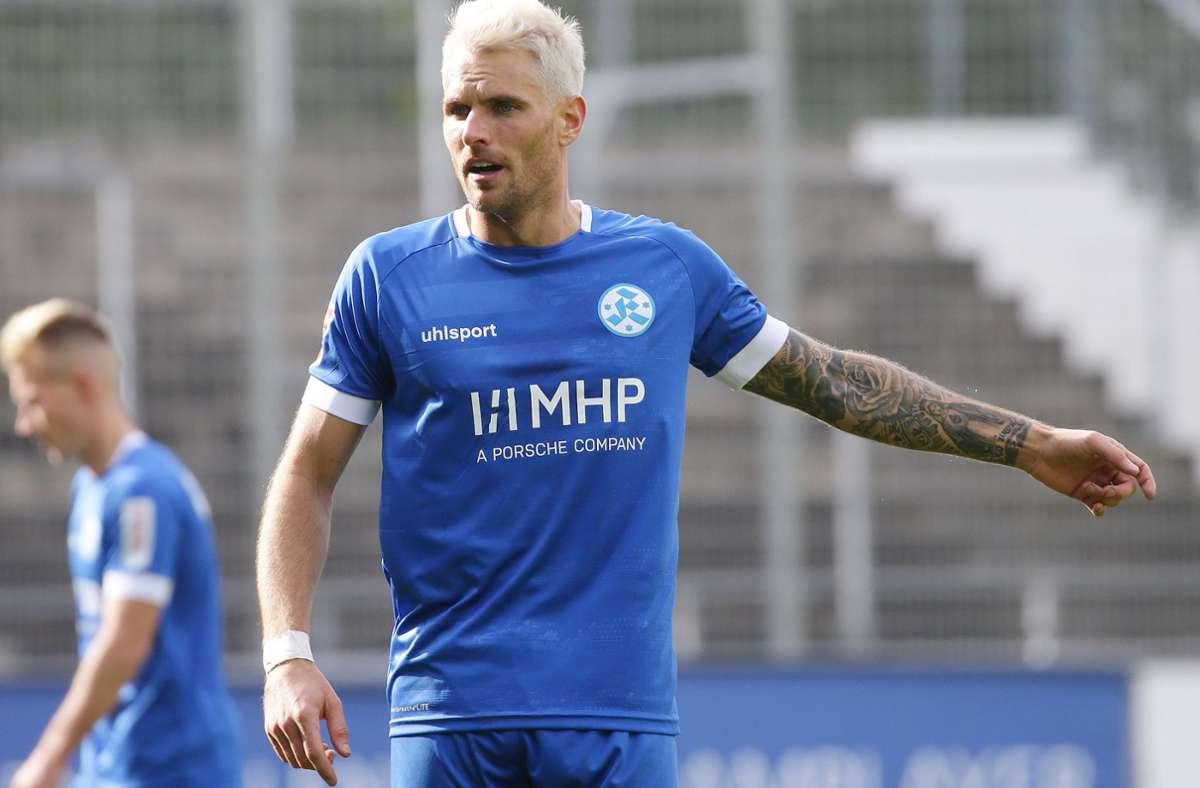 Befindet sich derzeit in Topform: Mittelfeldspieler Markus Obernosterer. Foto: Baumann
